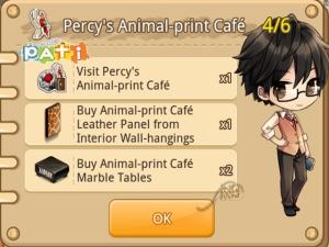 Percy's Animal-print Café [4-6]