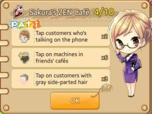 Sakura's ZEN Café [4-10]