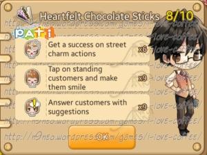 Heartfelt Chocolate Sticks [8-10]